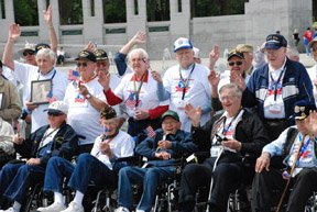 Veterans in Washington DC
